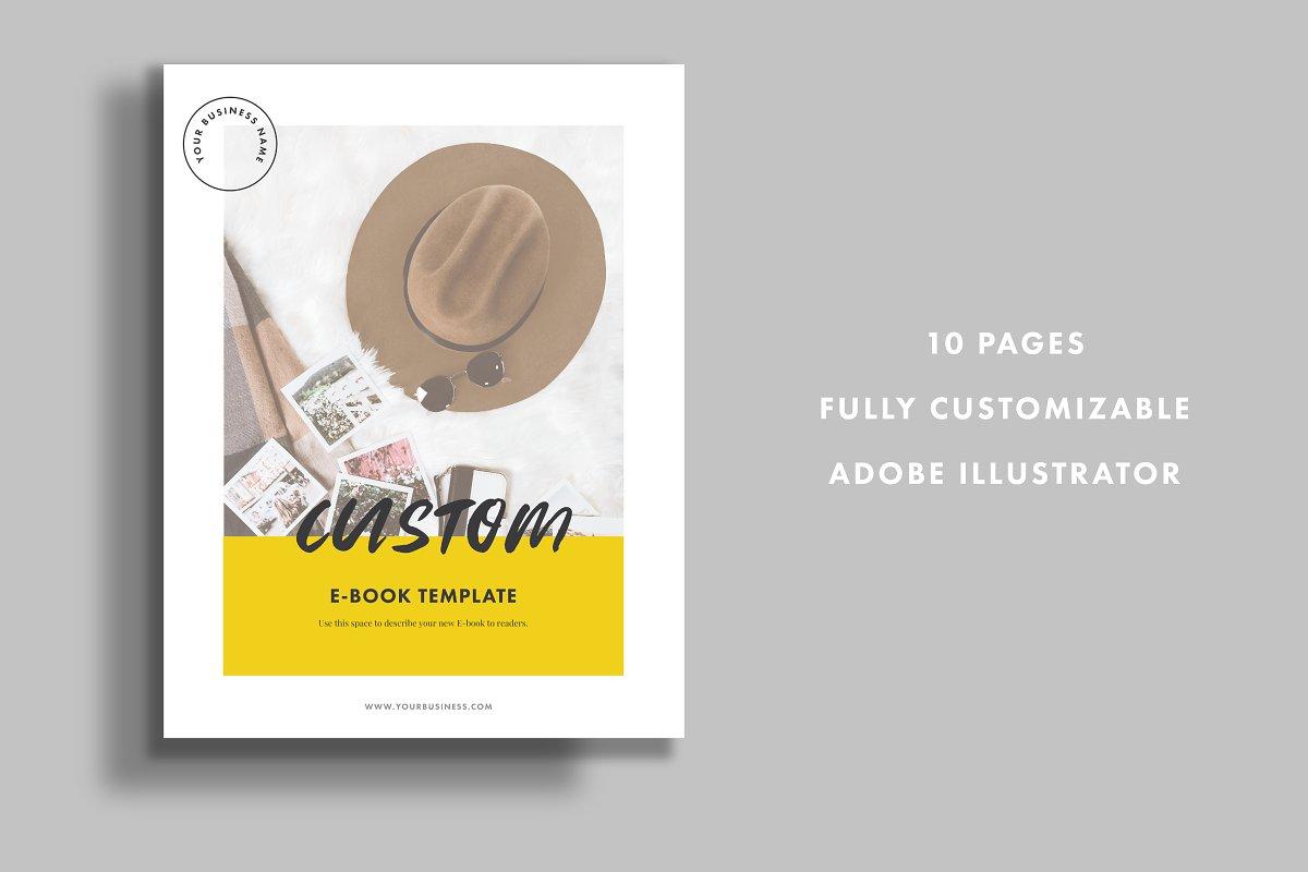 Ebook Template - Illustrator