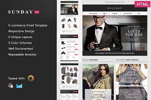 Sunday E-commerce Responsive Email