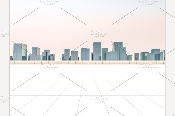 Skyline And Buildings