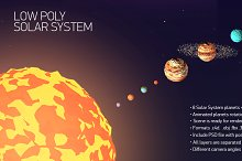 Low poly solar system by  in Nature