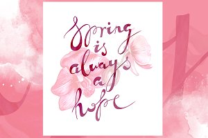 Spring is always a hope | JPEG