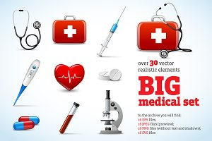 Big Medical Set