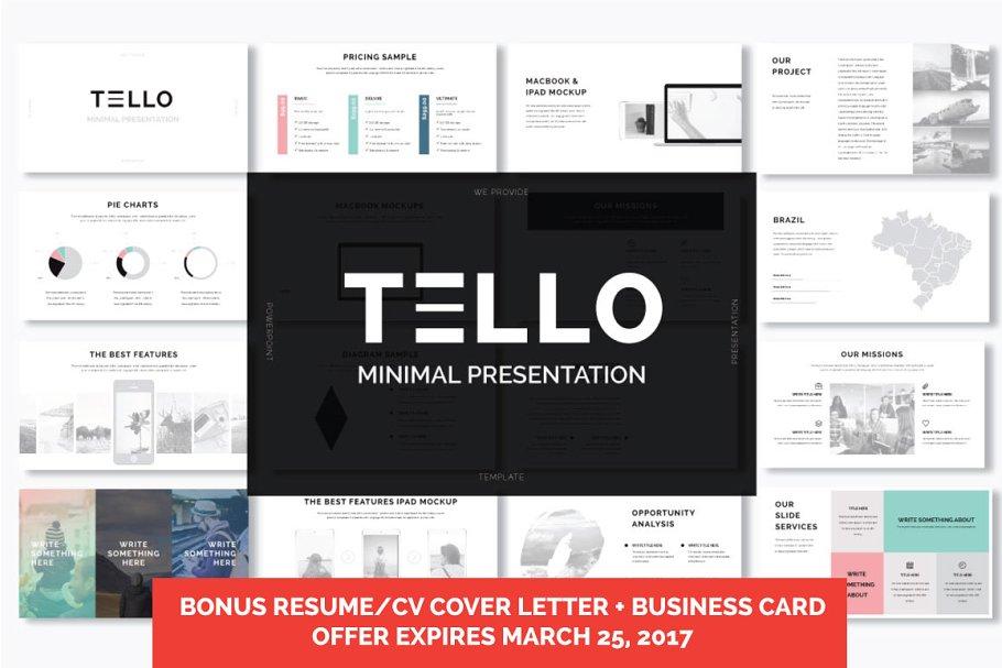 Tello powerpoint presentation presentation templates creative previous toneelgroepblik Image collections