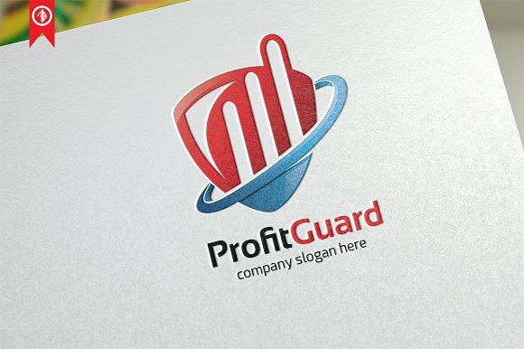Profit Guard Object-Logo Template