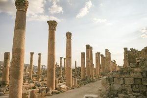 Jordanian city of Gerasa, Jerash