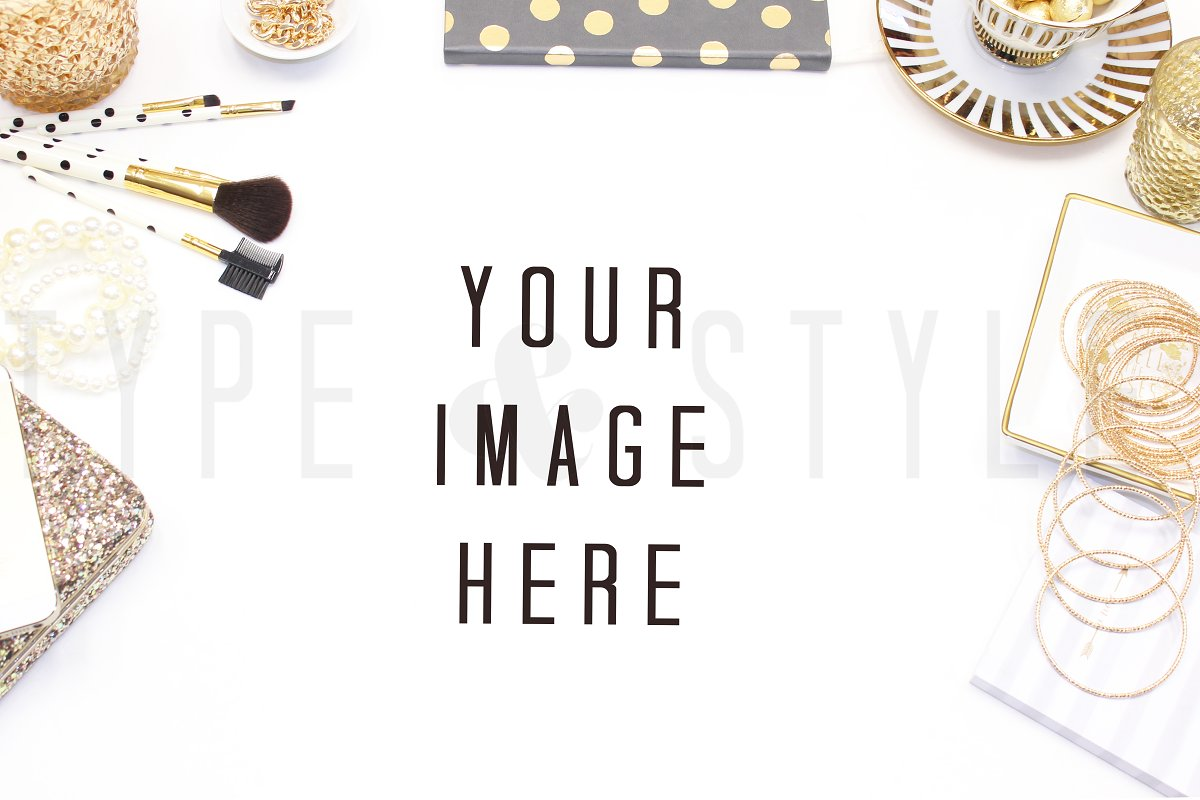 Styled Stock Photo - Vanity Mock up in Product Mockups - product preview 8