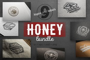 Honey logo kit