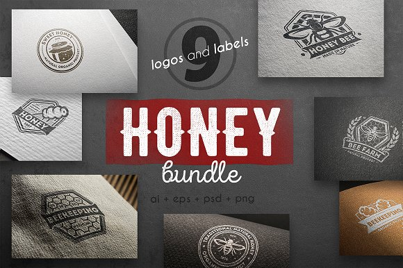 Honey Logo Kit