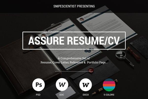 Assure - Resume/CV