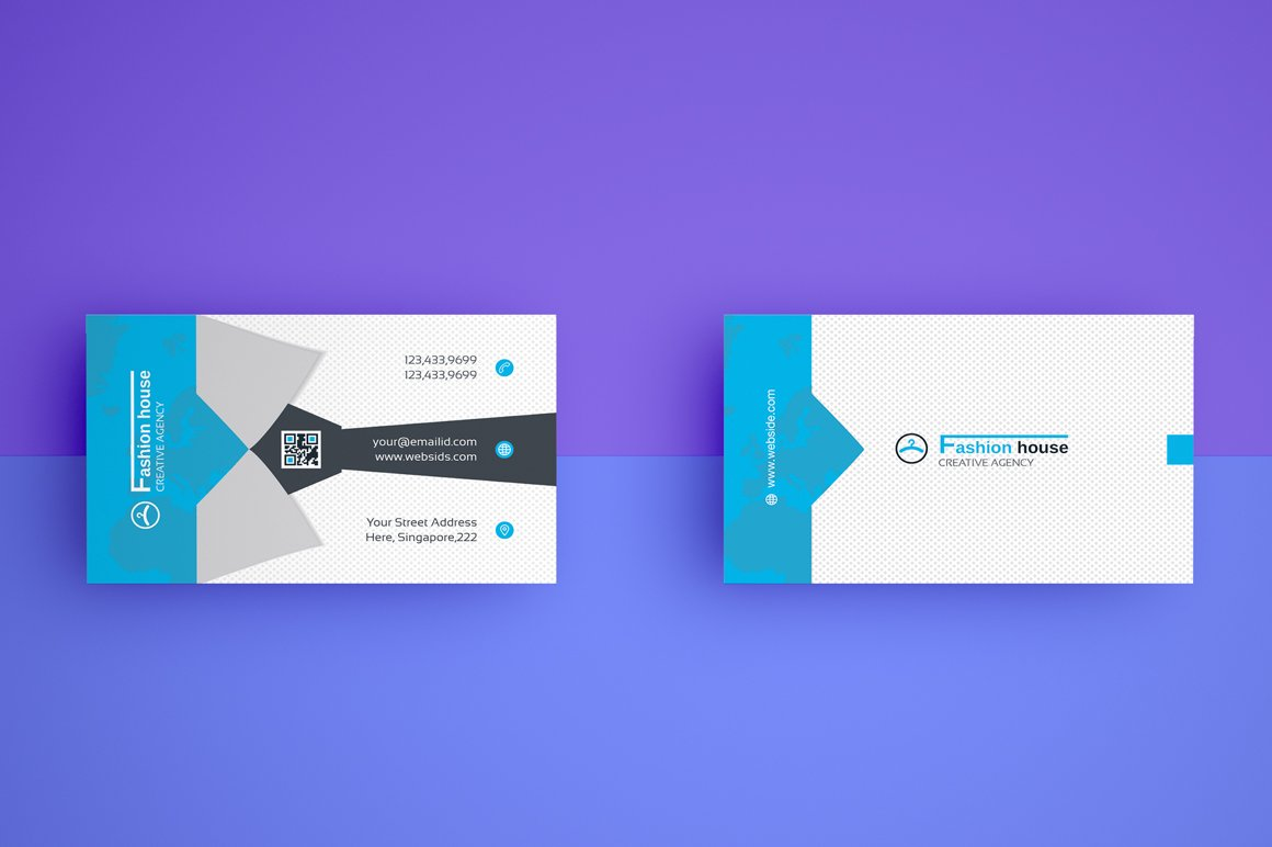 Business card template vol17 business card templates creative business card template flashek Gallery