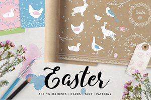 Easter & Springtime set