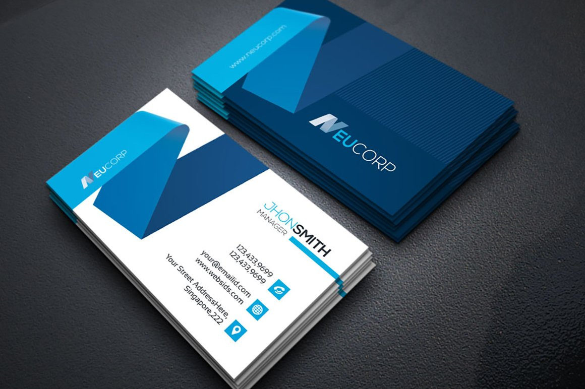 Vol.08 ~ Business Card Templates ~ Creative Market