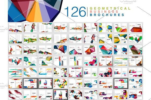 Mega Collection Of Business Brochure Templates Annual Report Cover Print Templates