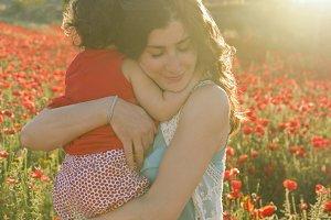Mother,s big hug