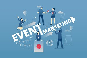 Event marketing hero banner