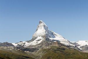 Mountain Matterhorn, Swiss Alps