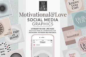 Motivational & Love Social Media