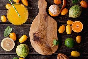 Cumquat and Tiger lemon