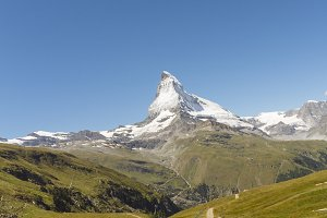 Mountain Matterhorn, Swiss Alps