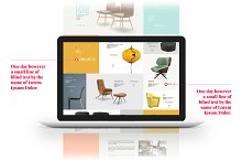 MacBook™ Mockup for Project Details