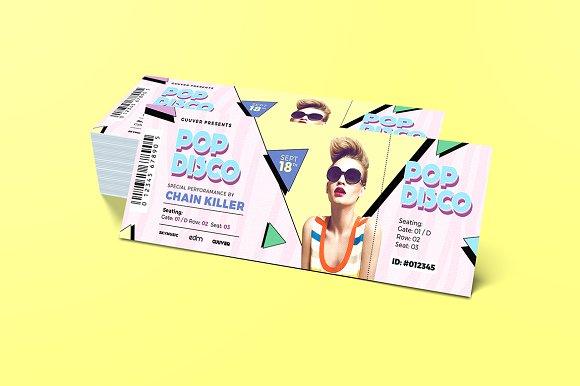 Music Event Ticket