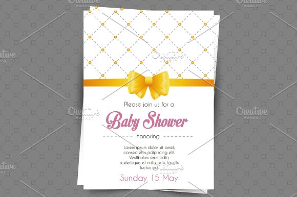 Invitations design in Wedding Templates - product preview 1
