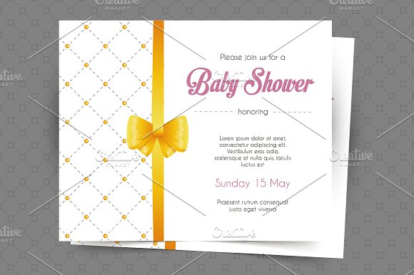 Invitations design in Wedding Templates - product preview 2