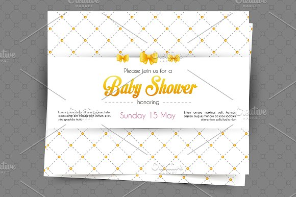Invitations design in Wedding Templates - product preview 3