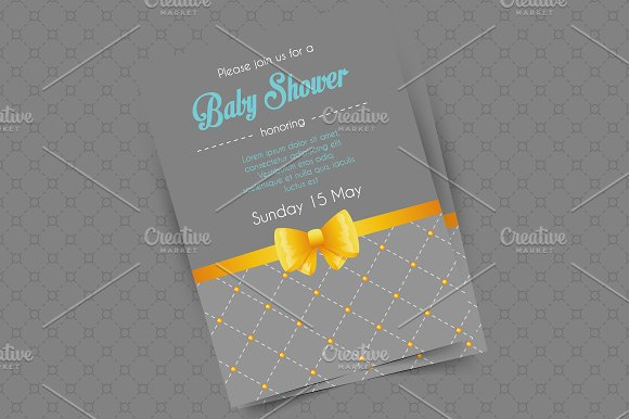 Invitations design in Wedding Templates - product preview 4