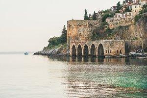 Alanya medieval fortress