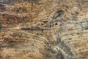 Old rough rustic French wooden board