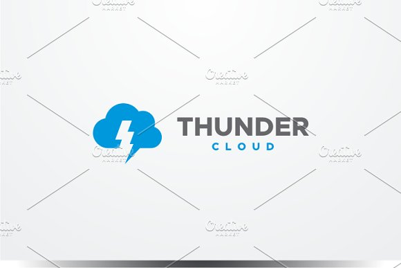Thunder Cloud Logo