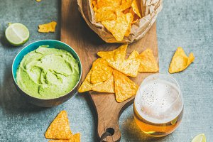 Mexican corn chips