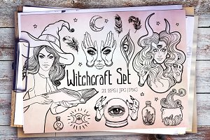 Witchcraft Set