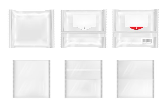 White Package With Flap