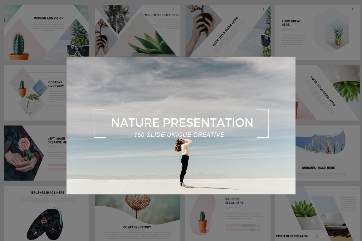 nature presentation powerpoint - 45 In Business Presentations All Background Artwork Should Be Experience