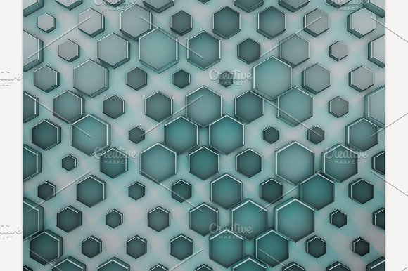 Abstract Glass Background