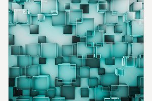 Abstract glass background.