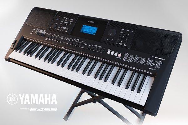 3D Electronics - 3D Model «Yamaha PSR-E453»