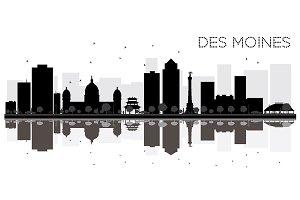 Des Moines City skyline