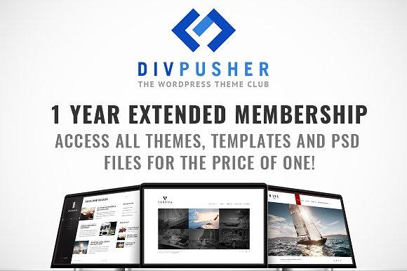 1yr Extended Membership @DivPusher