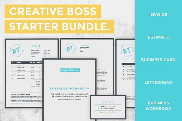 90% OFF - Whole Store Bundle in Templates - product preview 5