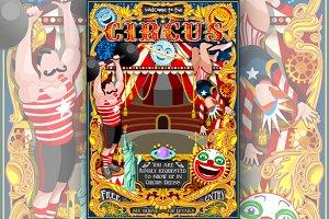 Circus Carnival Park Poster Tent