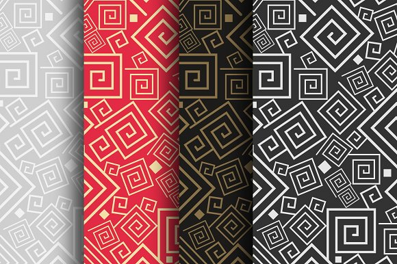 Design Patterns Geometric Pattern