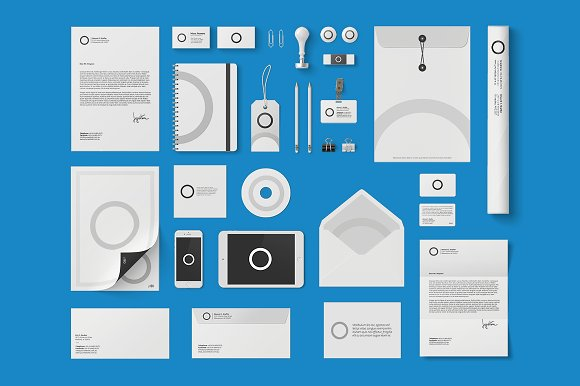 Download Corporate Identity Mock-up