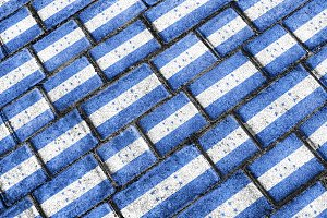 Honduras Flag Urban Grunge Pattern