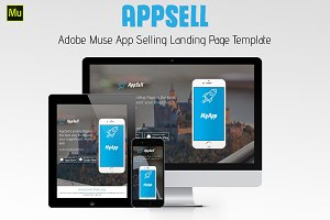 AppSell - Muse App Selling template