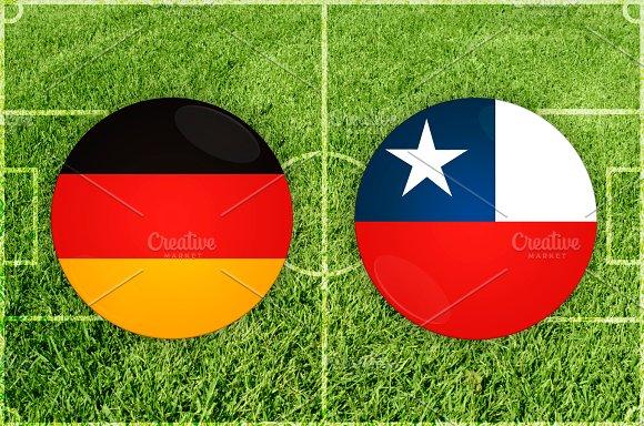 Germany Vs Chile Football Match