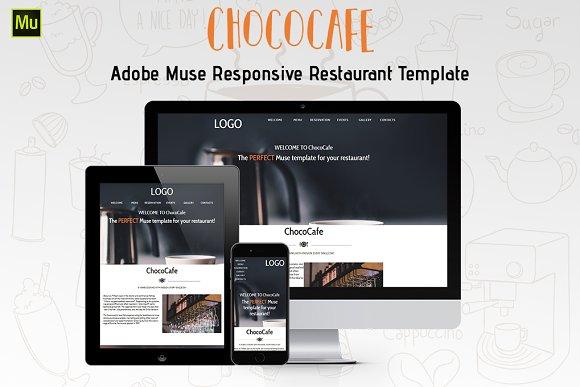 ChocoCafe Restaurant Muse Theme