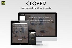 Clover - Minimalistic Muse Temlate